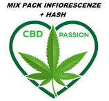 MIX PACK INFIORESCENZE + HASH - 10gr