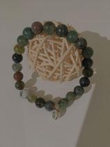 Natursteinarmband Jade green Stone