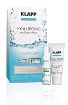 Hyaluronic Power Set - 3 Hyaluronic Ampullen + 3 ml Day & Night Cream