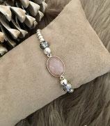 Silber Rosenquarz