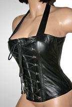 Sexy Leder Corsage mit Schnürung