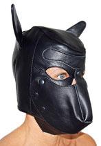 Kopfmaske Ledermaske HUND