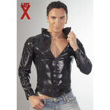 Latex Shirt mit Zip