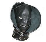 Doppelmaske Kopfmaske Leder