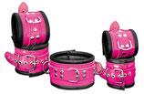 Premium Fesselset Bond pink