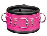 Premium Halsfessel Halsband Bond Pink