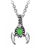 Halskette mit Skorpion-Anhänger Gothic