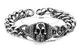 Armband mit Totenkopf Gothic