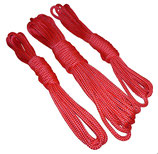Bondageseil Polypropylen rot Ø 8 mm Sets