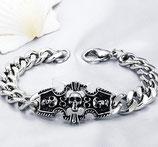 Armband mit Totenkopf Skull Gothic