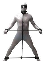 Bondage Pranger Ultimate, verstellbar, inkl. Halsband, Handfesseln und Fußfesseln
