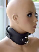 Robustes BDSM Halsband Halsfessel Wave gepolstert