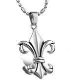 Halskette Mittelalter Schwertlilie