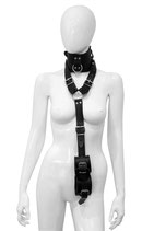 Halsband + Handfesseln Connector