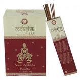 Encens naturel en batons, boite de 15g Moksha