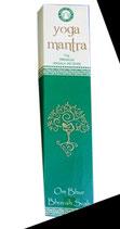 Encens naturel en batons, boite de 15g Yoga Mantra