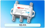 DiSEqC 4in1 スイッチGD-41A