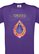 T Shirt Yoniversel Homme/Femme