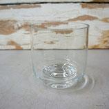 Glas rund mit Fuss