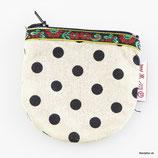 Kleingeldtäschchen mit Reissverschluss