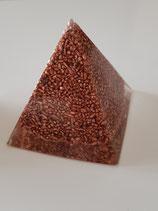 Orgonit-Kupferpyramide