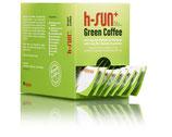 h-sun+ -  Grüner Kaffee VEGAN! - Art Nr.1005