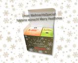 Weihnachtsduo: 2er-Set bestehend aus je 1 Packung grünem Kaffee (h-sun+) und Aronia-Granatapfelsaft (Sachets!)