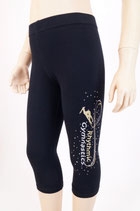 3/4 Leggings Gold-Silber-AB