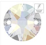swarovski xirius 2 loch 12 mm crystal ab