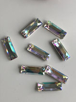 BLUE NILL PREMIUM BAGUETTE 2 LOCH 26X8,5 MM CRYSTAL AB