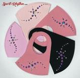 Schutzmaske mit Straß Kinder