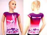 Pink Herz T-Shirt