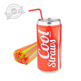 "Dispensador de canyetes, mod. ""Cool Straws""."