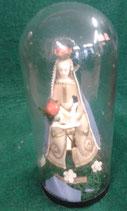Madonna con bambino in cera