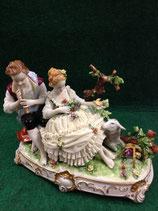 scultura in fine porcellana tedesca