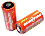 Sure Fire Batterie SF123A Lithium 3V, Set à 2 Stück