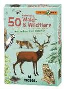 50 heimische Wald- & Wildtiere