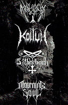 "Koltum / Moloch / Mourning Soul / Silberbach - ""Possessed by the Unholy Black Art"" Split"