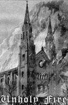 """Akerbeltz / Blasphemical Procreation / Halla / Svartalvs - """"Unholy Fire"""""""