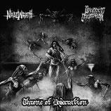 """Nadiwrath / Preteen Deathfuk - """"Throne of Desecration"""""""