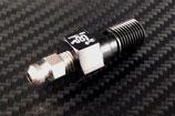 FRENTUBO AN3ホース用M10×P1.00アルミエアブリードバンジョーボルト(S) B19007AL-NE