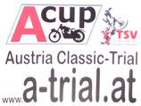 A-Cup A-Trial Motorrad-Aufkleber