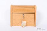 Briefkasten aus Hartholz Einzelstück Handarbeit