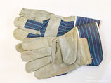 Arbeitsschutz-Handschuhe in Leinen und Leder, Preis gilt pro Paar