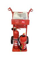 Feuerlöscherwagen