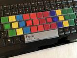 Tastaturabdeckung für Blindschreiben