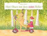 Herr Olsen mit dem roten Roller