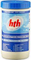 hth Chlor Multifunktionstabs für Swimspas 20g Tabletten langsam löslich