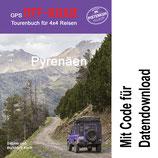GPS Offroad Tourenbuch Pyrenäen