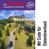 GPS Offroad Tourenbuch Rumänien